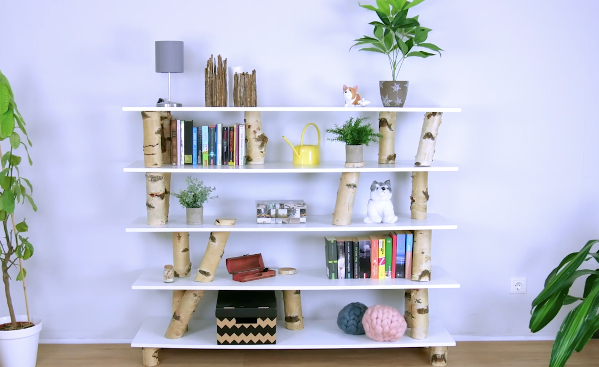 DIY Projects Featuring Birch Logs & Branches